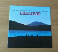 "The Chordettes Lollipop 1987 UK 7"" Single Atlantic A9310 Picture Sleeve"