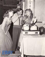 Mervyn LeRoy directs Elizabeth Taylor Janet Leigh Photo From Original Negative