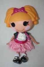 """Lalaloopsy 12"""" Orange Hair Pink Bow Dress Doll"""