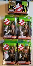 Ghostbusters Complete Set of 5 Figures New with Bonus Supply Box 2016