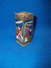 Vintage Asian Handmade Cupronickel Cloisonne Beauty Jar Pot