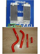 FOR Yamaha YZ125 yz 125 2-STROKE 1996-2001 2000 1999 Aluminum radiator & Hose