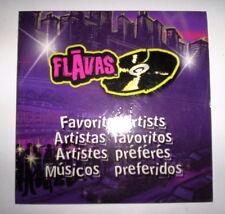 CD PROMO MATTEL 2004 FLAVAS