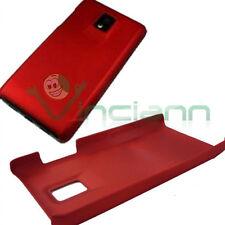 Custodia back cover ROSSA per LG Optimus Dual 2x RED