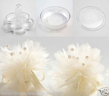 Base Discs Dishes Trays Bomboniere Nets Wedding Favour Anniversary Christening