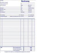 Profi-PC Rechnung - Rechnungsprogramm mit Protokoll - Excel