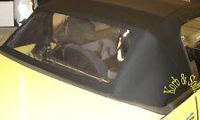 Suzuki Swift Geo Metro Cabriolet Verdeck Heckscheibe PVC Scheibe inkl. MONTAGE
