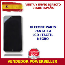 PANTALLA ULEFONE PARIS LCD + TOUCH NEGRO TOUCH SCREEN BLACK ENVÍO 24 HORAS