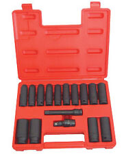 ATD TOOLS 4350 - Deep Metric Impact Socket Set 16 pc.