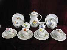 Meissen Kaffeeservice  6 Personen Blume 2 Service Deutsche Kornblume Top Zustand