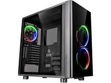 Thermaltake View 31 RGB Dual Tempered Glass ATX Tt LCS Certified Black Gaming Mi