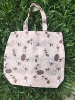 French bulldog New Oxford Nylon Tote Bag Walking dog pet Milk Tea Color lunchbox