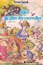 Alice Au Pays des Merveilles by Lewis Carroll (2016, Paperback)