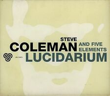 STEVE COLEMAN AND FIVE ELEMENTS  lucidarium