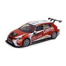 Coche Scalextric Seat Leon TCR Lukoil Oriola SCX Slot Car 1/32 A10223