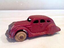 "Vintage Antique Hubley Arcade Ballon Chrysler Airflow Cast Iron 4"" Toy Car"