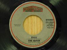 The Quick 45 Zulu bw instrumental - Pavillion M-