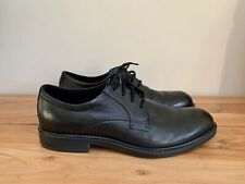 ECCO Men's Vitrus III Plain Toe Black Derby Shoe EUR 44 US 10-10.5 $180