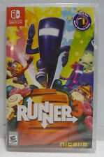 RUNNER 3 - FIRST RUN BONUS INSIDE - NICALIS -  NINTENDO SWITCH REGION FREE