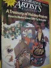 Decorative Artist's Workbook Magazine December 1988 - Super Christmas Issue
