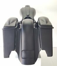 """Harley Davidson Saddlebags Replacement / Fender Dual Cutout  Flh 4"""" stretch"""