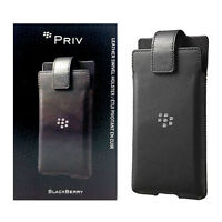 BlackBerry Swivel Rotating Leather Belt Clip Holster Case for BlackBerry Priv