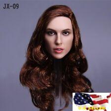 1/6 female head Gal Gadot wonder woman for 12' phicen female figure
