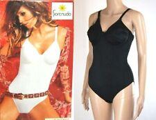 Body Intimo Donna FIORENUDO by PAPILLON SA045 Nero Tg 3/4