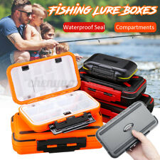 Waterproof Fishing Lure Storage Case Sea Boat Fly Tack Boxes Organize