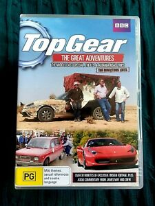 TOP GEAR THE GREAT ADVENTURES THE DIRECTORS' CUT – DVD, 2-DISC- R-4- LIKE NEW