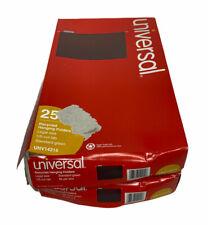 2pk Universal Legal Hanging File Folders Green 25box 15 Tab Unv14215