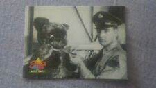 Elvis Presley Elvis Army Teddy Bear Collectible Trading Card 1992