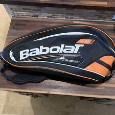 Babolat Team Tennis Dual Shoulder Strap 6 Racket Bag Orange & Black