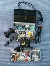 CONSOLA PLAYSTATION 3 PS3 + JUEGOS Y ACCESORIOS