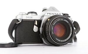 Pentax ME in Good Condition Fully Working w/ SMC Pentax-M 50mm f2 lens.