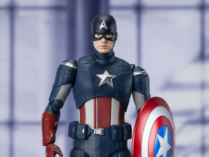 Avengers: Endgame S.H.Figuarts Captain America Cap Vs Cap 100% genuine Not KO UK