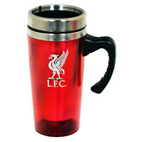VARIOUS FOOTBALL TEAM CLUB ALUMINIUM TRAVEL JOURNEY COFFEE MUG NEW XMAS GIFT