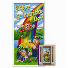 Party Decorations Supplies Irish   St Patrick's Day Door Cover
