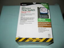 WESTEK INDOOR MECHANICAL TIME SWITCH TM104-POOLS/SPAS/FOUNTAINS