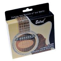 Set Belcat Soundhole Pickup With Active Power Jack for Acoustic Guitar Parts