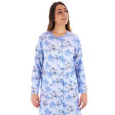Camicia da notte donna primavera autunno in cotone aperta allattamento 1DPCAM016