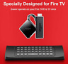 For Amazon Fire Stick Bluetooth Remote Control with Keyboard Fire TV replacement