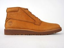 Mens Timberland Wesley Falls A2C3T Oxford Brown Leather Lace Up Chukka Shoes