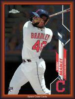 2020 Topps Chrome Baseball Bobby Bradley Rookie Base #3