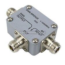 1 1000mhz 1ghz Rf Swr Reflection Directional Bridge For Network Measurement