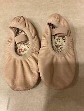 Toddler Girl Ballet Dance Slippers Split Sole Flats Size M7