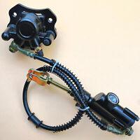 Rear Brake Master Cylinder Caliper Assembly For 50 70 90 110 125 CC ATV Quad