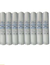 "20"" REVERSE OSMOSIS SEDIMENT 1 MICRON PREFILTER WATER FILTERS RO X 8 PACK"