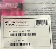Cisco GLC-LX-SM-RGD 1000BASE-LX/LH SFP Transceiver Module.10KM(Brand New Sealed)