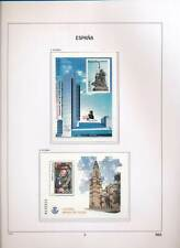 XC50138 Spain 2004 monuments cathedral art religion sheets MNH